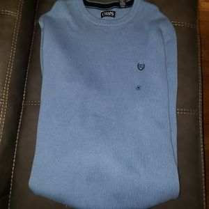 Nwt Men's Chaps sweater size Extra Large blue